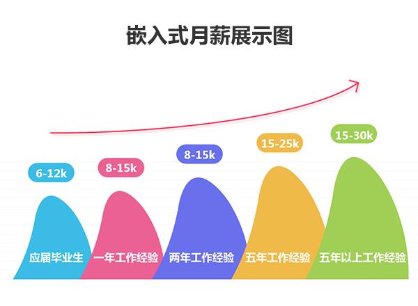 嵌入式月薪展示图