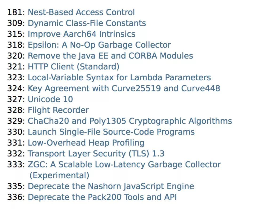 对于java的新特性解读-学习java的工程师必看篇