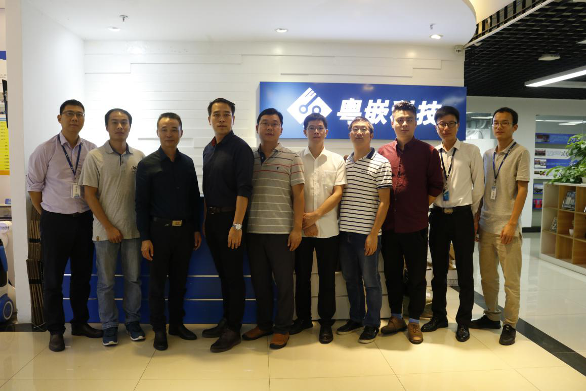 广西交通职业技术学院信息工程系领导赴粤嵌科技参观座谈