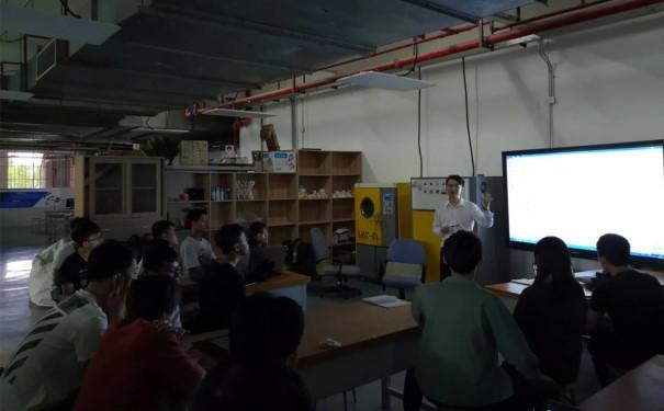 广东工贸职业技术学院粤嵌杯商业计划书培训会圆满举行