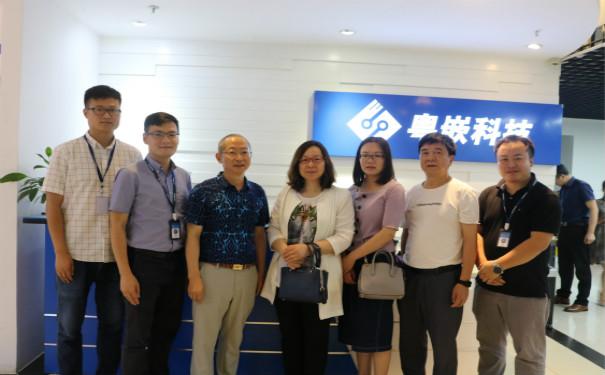 武汉商学院信息工程学院领导到访粤嵌科技 共商校企合作事宜