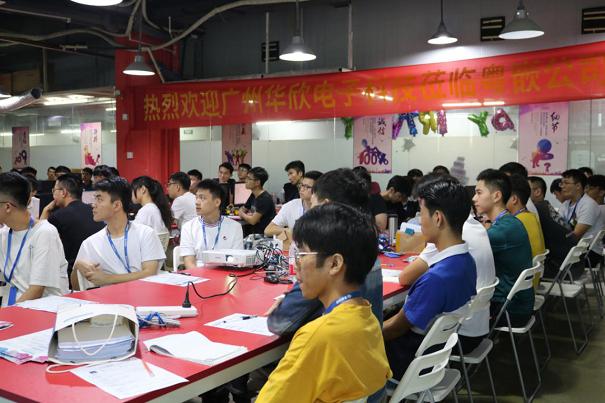 华欣科技面向粤嵌科技2020年度毕业学员招聘新员工