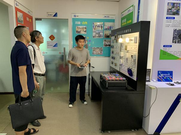 广东工业大学物理与光电工程学院电子系领导莅临粤嵌参观交流