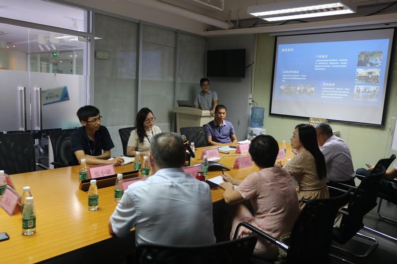 《粤嵌教育》热烈欢迎广东海洋大学数学与计算机学院领导莅临指导!